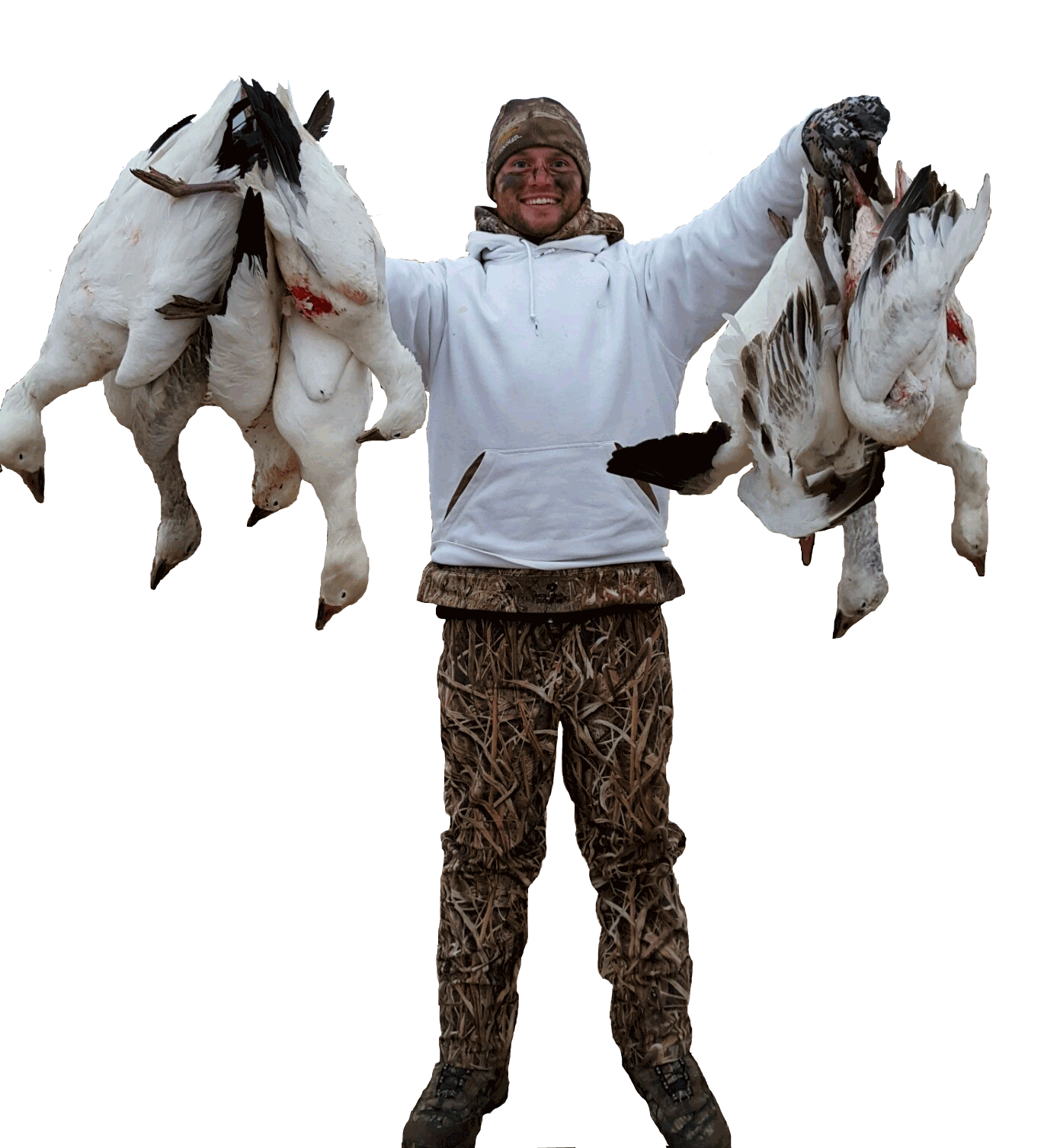 Spring Snow Goose Hunting in SD & KS